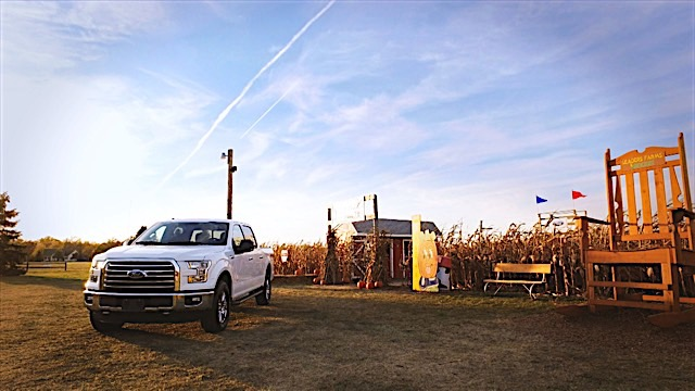 Inspired by the all-new Ford F-150, Leaders Farms near Napoleon, Ohio, has created a seven-acre corn maze as a tribute to Ford's latest half-ton pickup – the toughest, smartest, most capable F-150 ever.