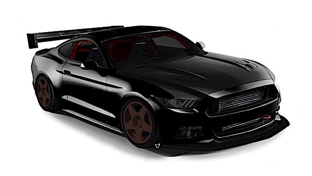 Mustang EcoBoost 900 hp SEMA