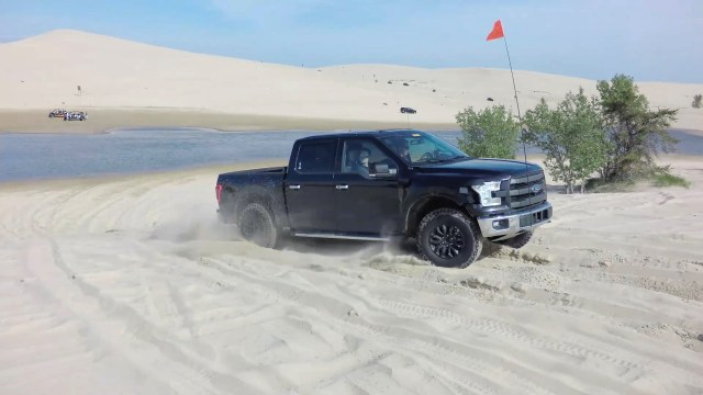 2017 Ford F-150 Raptor Prototype Testing at Silver Lake Sand Dun