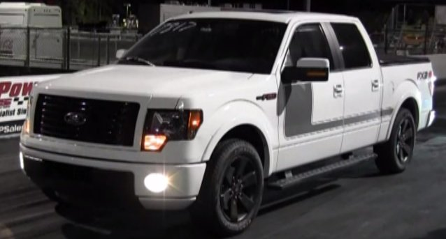 Watch a Ford F-150 Smoke a BMW M5 and a Honda with Ease