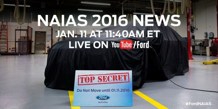 Ford NAIAS Live Stream