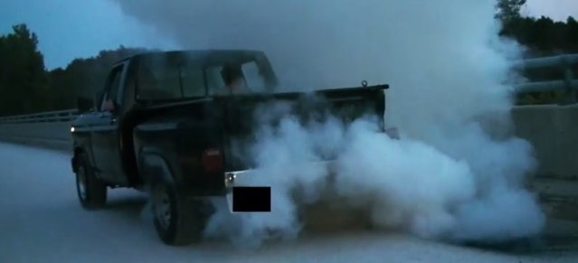 old f150 burnout failing rear