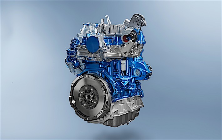 The new Transit: EcoBlue Engine