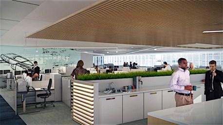 Dearborn Campus Transformation: Workspace Rendering