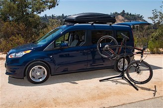Transit Connect Wagon mobile bike repair
