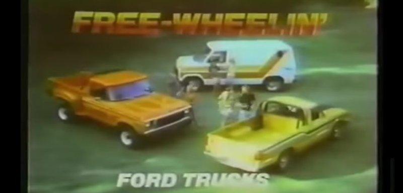 free wheelin ford