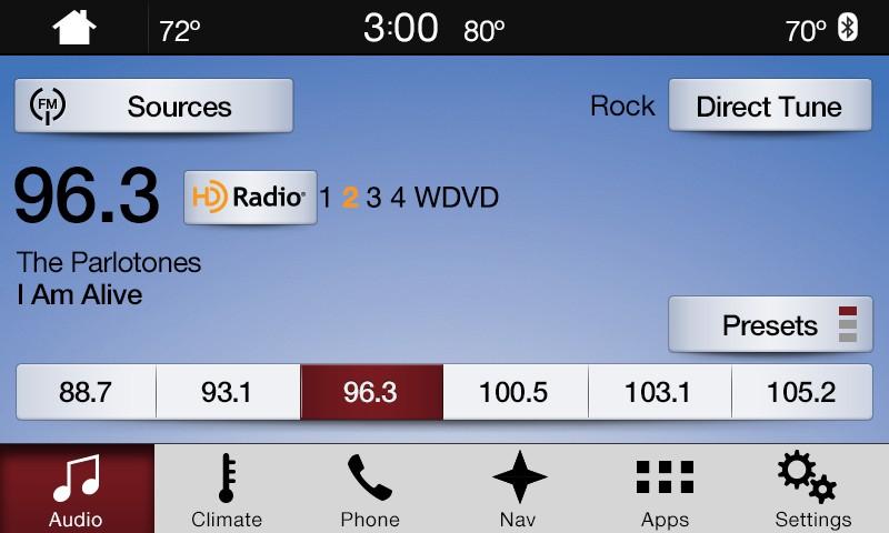SYNC 3 Ford Day Classic FM Radio