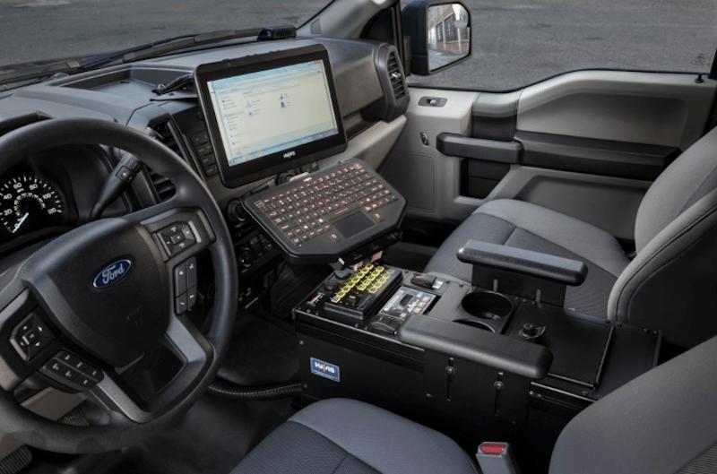 Ford F-150 police pickup