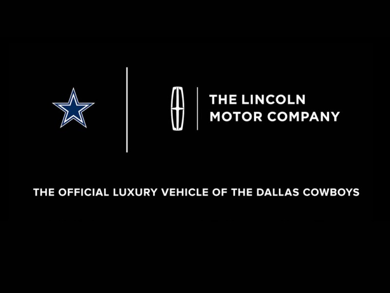 The Lincoln Motor Company and Dallas Cowboys