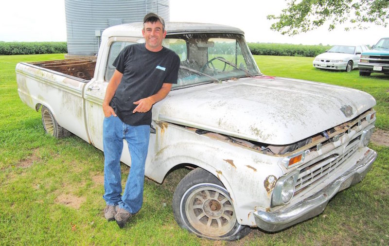 A sentimental Journey with a 1966 Ford Truck