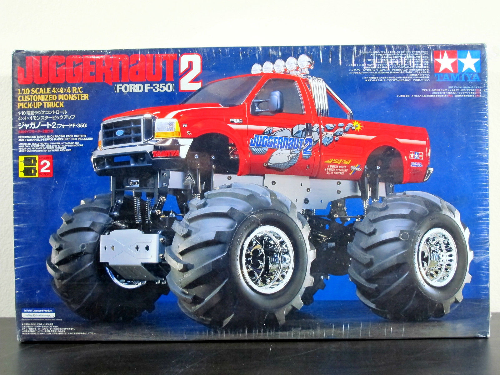 Ebay Find Old School And High Dollar Rc F 350 Monster Truck Ford Trucks Com