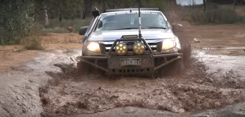 Modified ford ranger