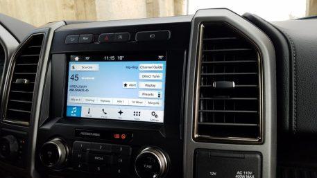 Ford Raptor (interior)