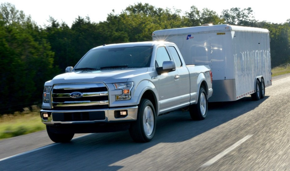 2015 Ford F-150 Towing Exterior
