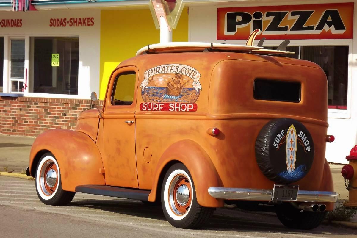 Craigslist Find: Restored 1940 Ford Panel Delivery Truck ...