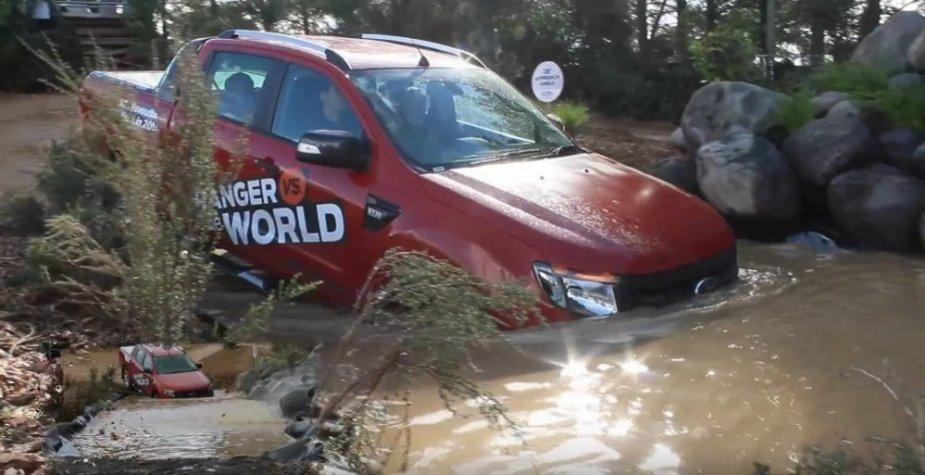 2014 Ranger in water