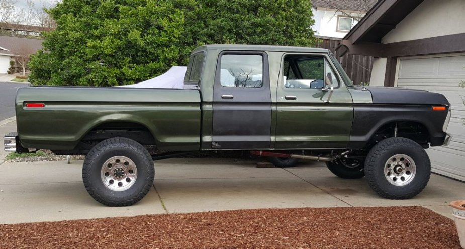 75 F-250 today