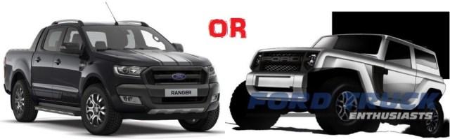 Ranger or Bronco
