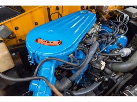 1975 Ford Bronco engine