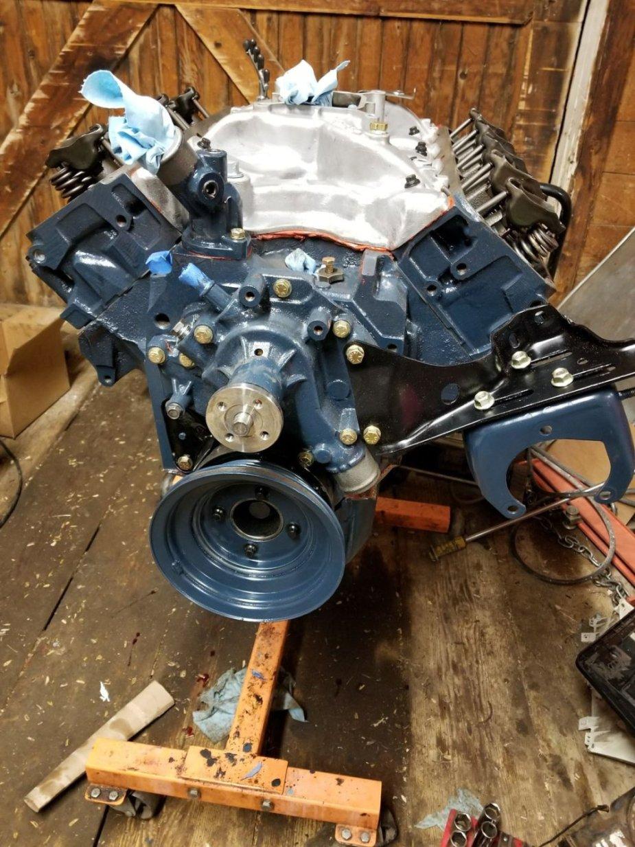 F250 Engine Together