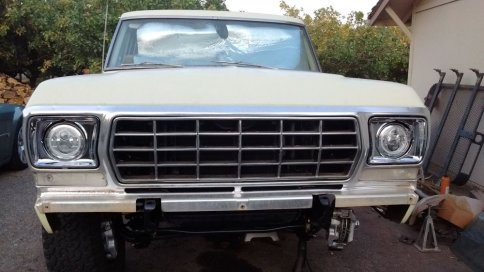 75 F-250 New Front