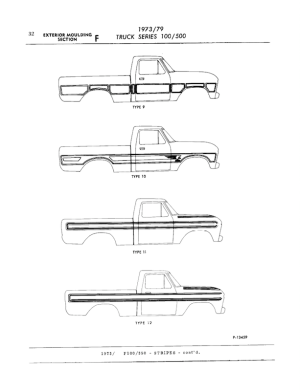 Ford truck kit types catalogue