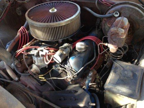 1975 F-250 Engine