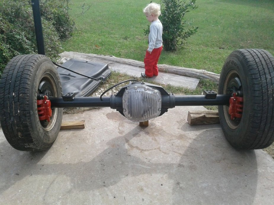 Painted Excursion Axle