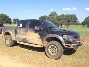 2014 Ford F-150 Raptor purple