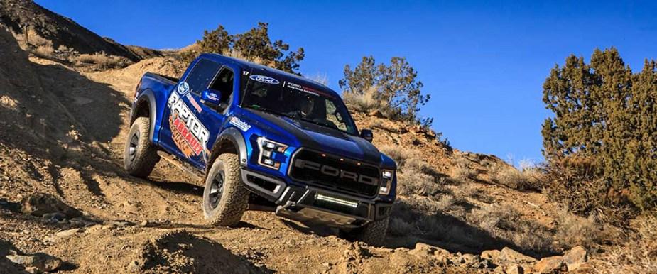 Raptor Assault Ford Performance Racing School