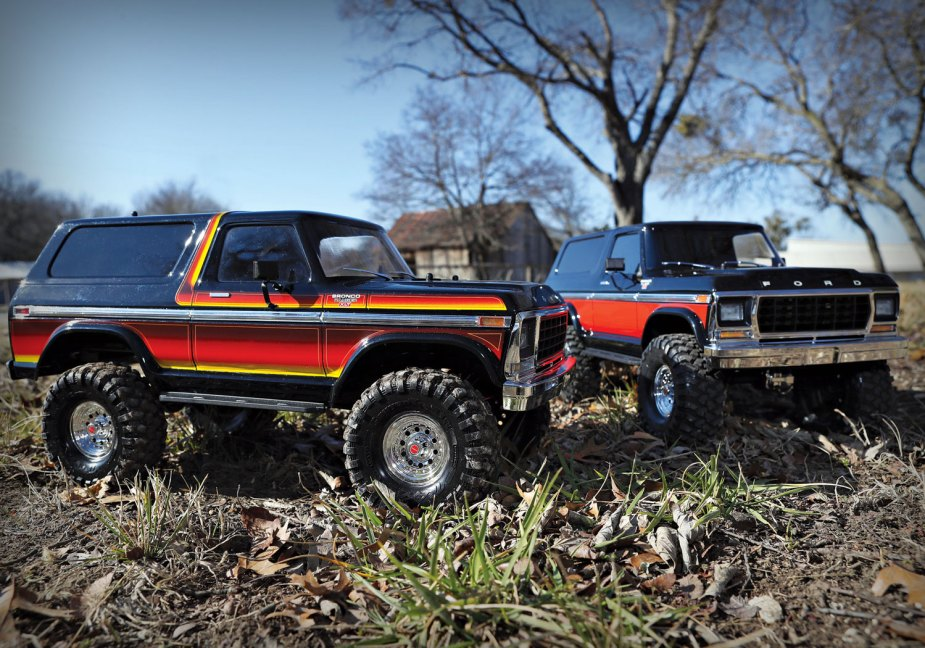 Traxxas 1979 Ford Bronco Model Trucks