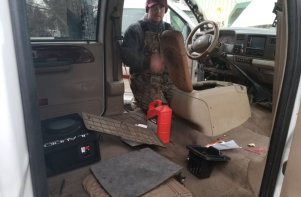 F-350 King Ranch Wiring Cleanup