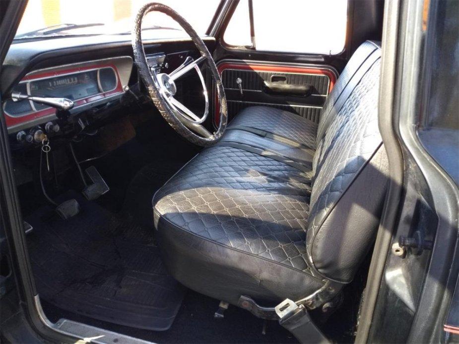 1968 F-100 Interior
