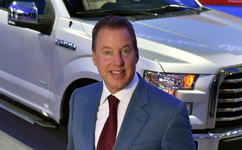 Bill Ford with the F-150