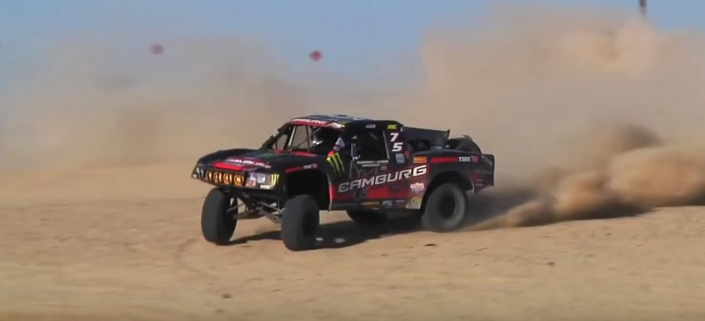 Raptor Trophy Truck Suspension in Action: Truckin' Fast Wednesday