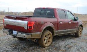 Muddy F-150 Diesel Rear