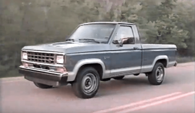 ford-trucks.com 1988 Ford Ranger Commercial