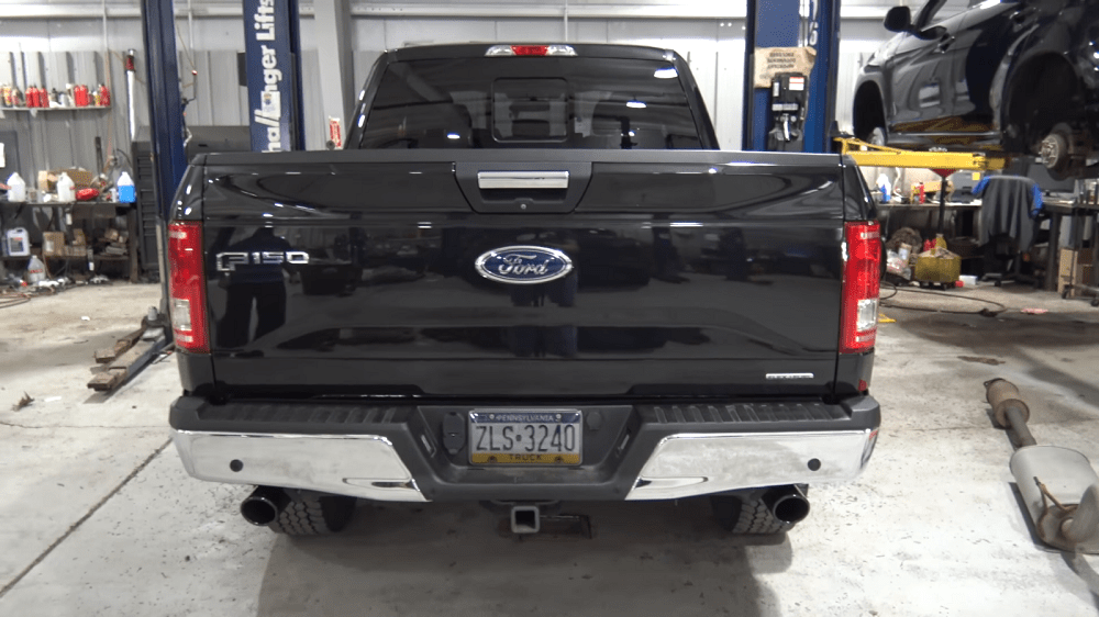 exhaust transforms sound of ford f 150 v8