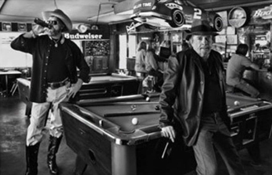 Merle Haggard in a Bar