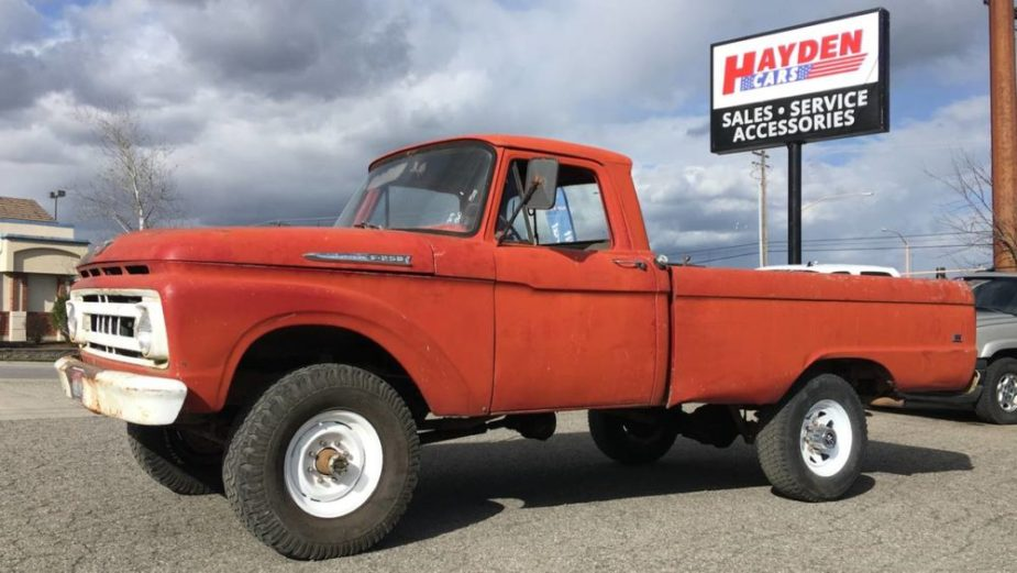 1962 Ford F-250 4x4
