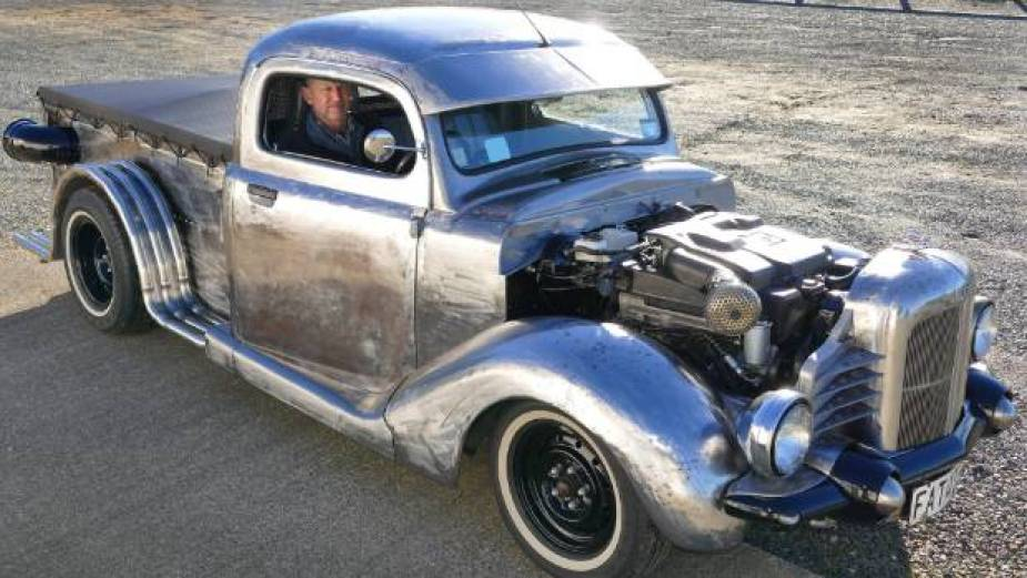 Danny Bisschop 1948 Ford Bonus custom Hot Rod