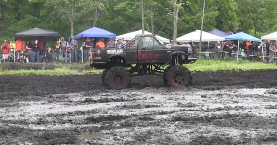 Rage Ford Mud Truck Side