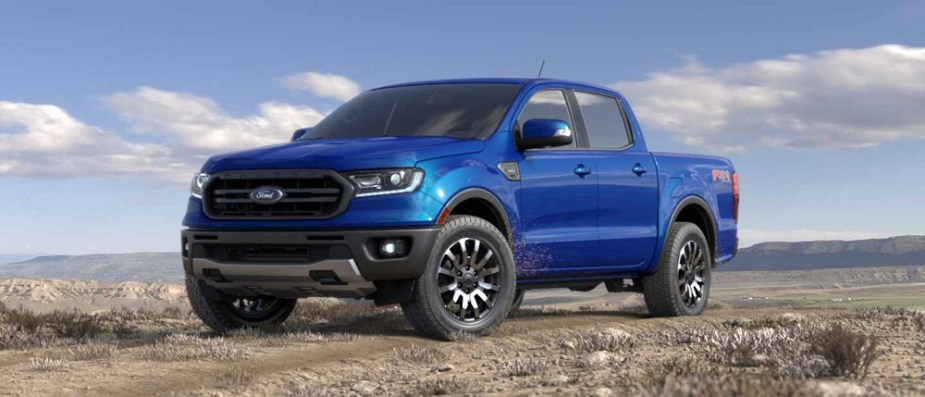 2019 Ford Ranger Colors