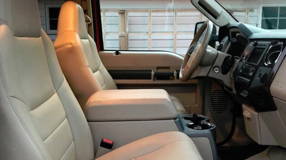 Ford F-550 Hauler Interior
