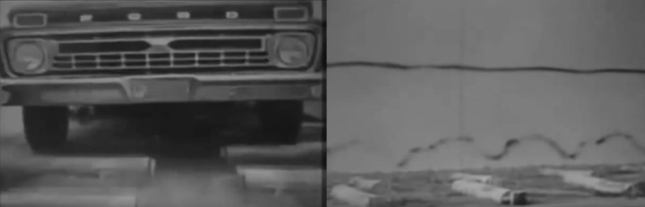 1966 Ford F-100 Paint Test
