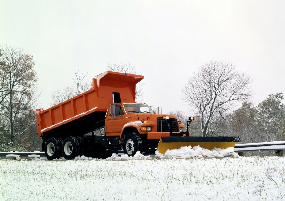 1995 Ford F-series Snow Plow