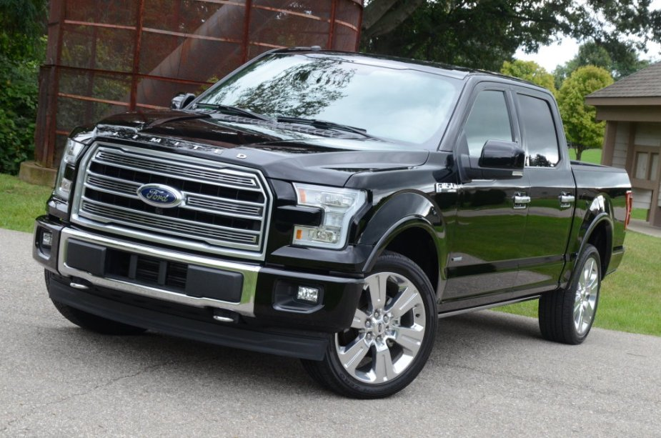 2016 Ford F-150 Front