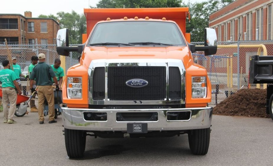 Ford F-650 Charity Help Front