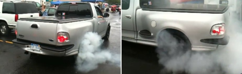 F-150 Lightning Woodward Burnout