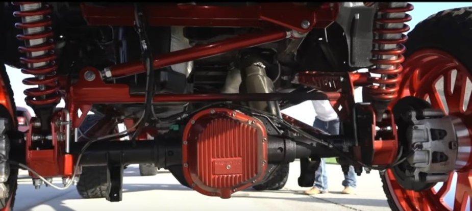 Custom Ford F-250 Rear Suspension